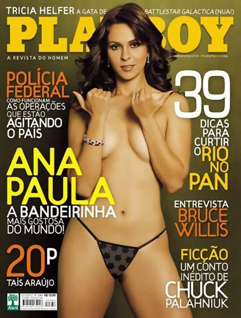 Bandeirinha  Ana Paula Oliveira Pelada Exibindo Sua Buceta Gostosa e Belos Seios