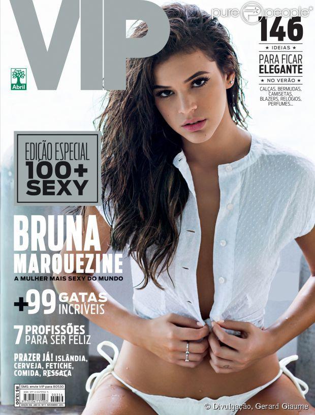 Bruna Marquezine na Revista Vip fotos sensual da gata