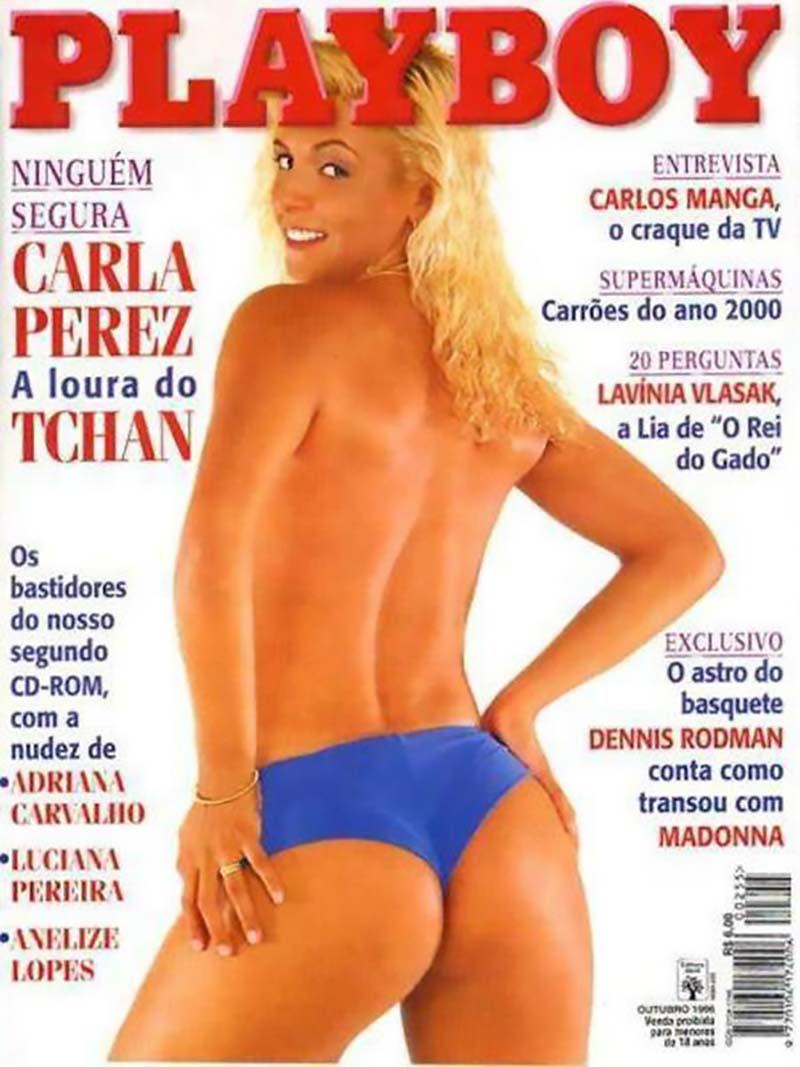 Carla Perez Pelada na Playboy