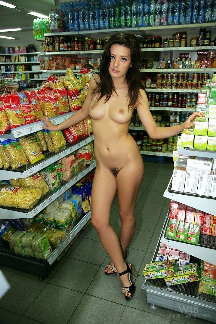 Fotos novinha peladinha no mercado