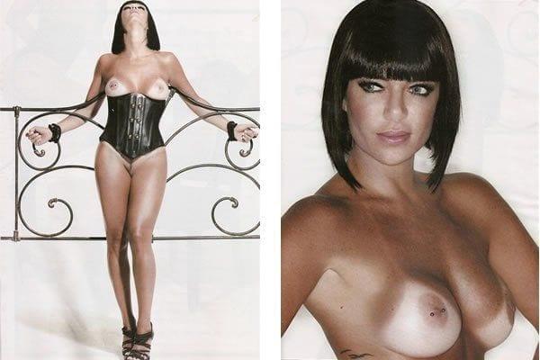 Valentina Francavilla, Assistente do Ratinho pelada na Playboy