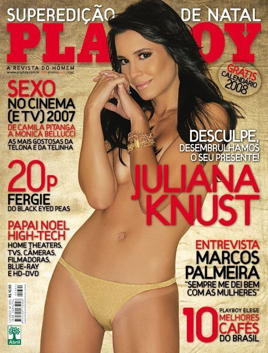 Juliana Knust atriz da Globo pelada nua Playboy