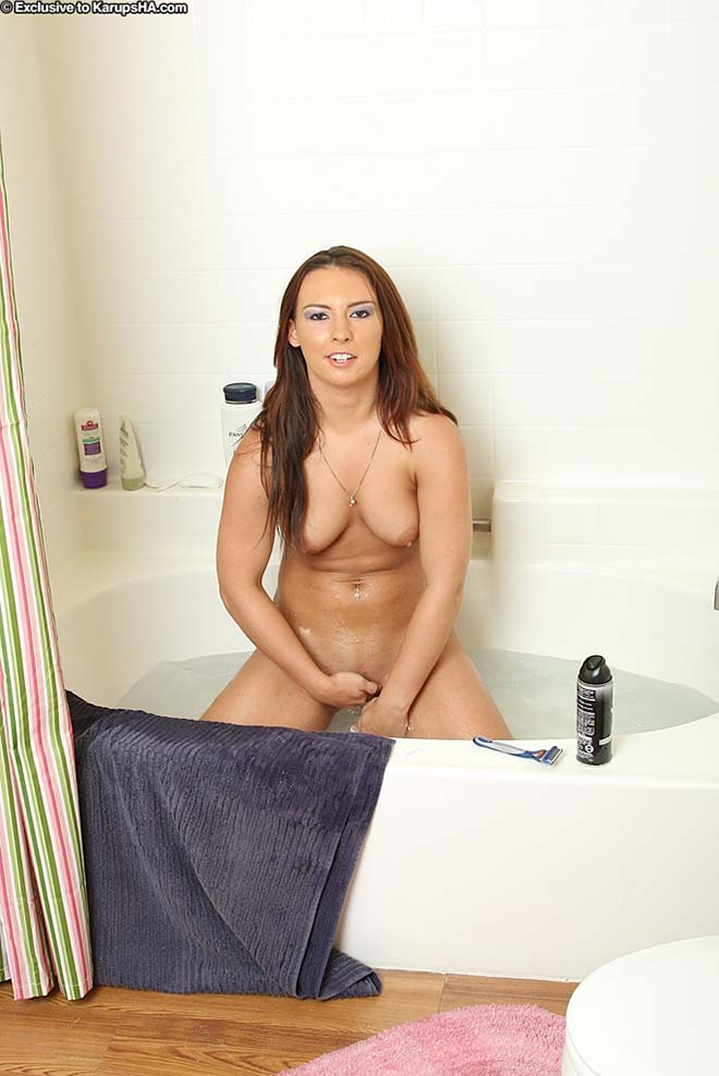 Katie Kayne Minha esposa rabuda depilando