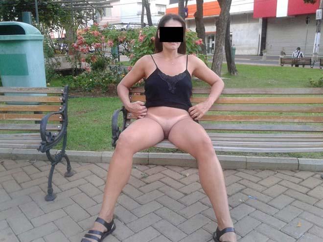 Raquel exibida pelada