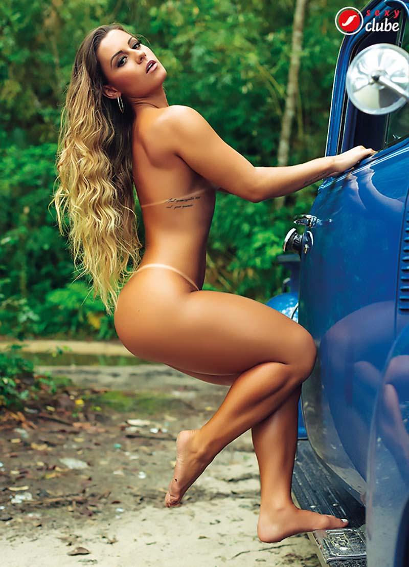 Aricia Silva Pelada Na Revista Sexy 04