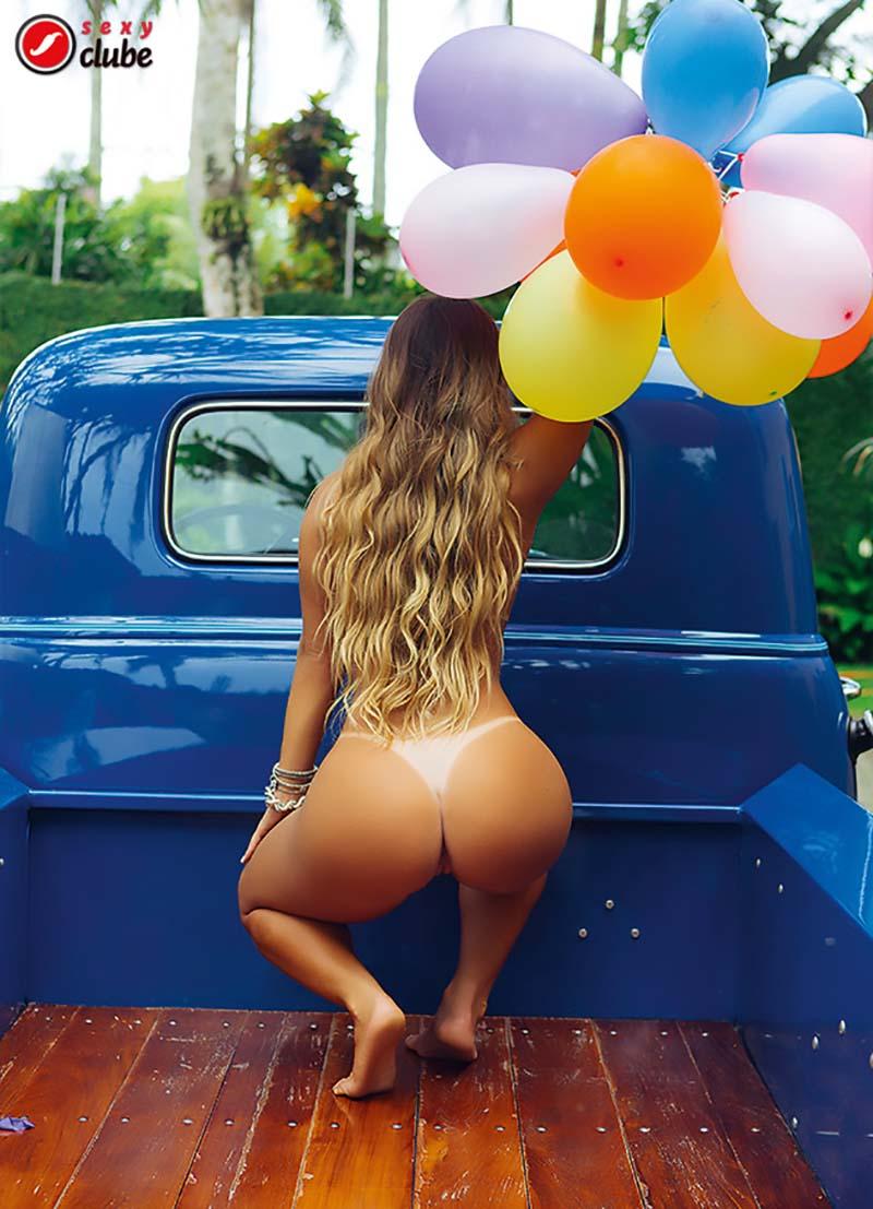 Aricia Silva Pelada Na Revista Sexy 16