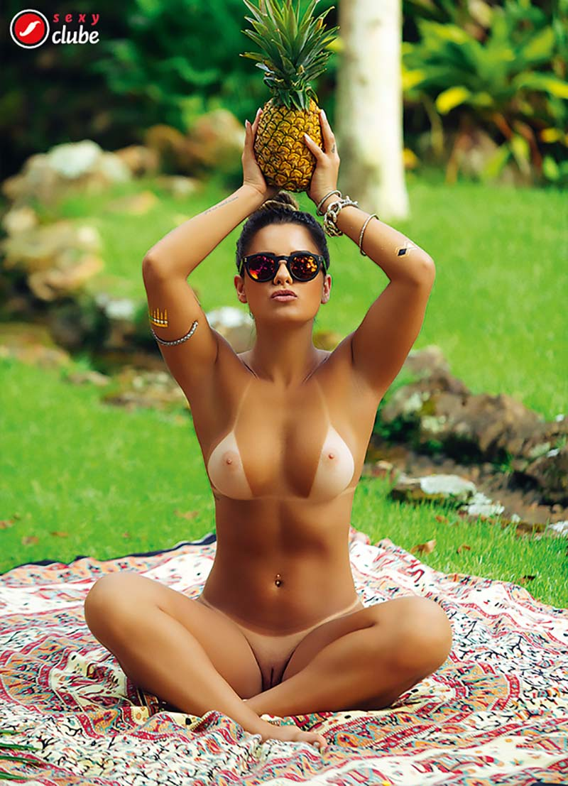Aricia Silva Pelada Na Revista Sexy 23