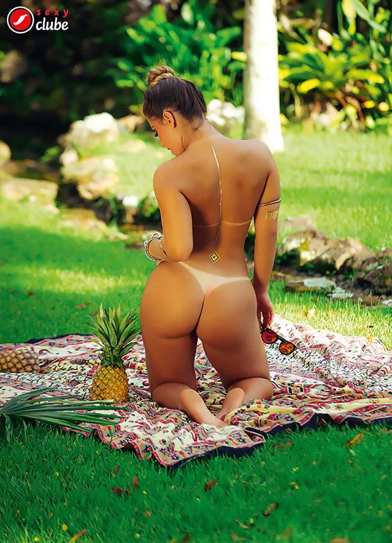 Aricia Silva Pelada Na Revista Sexy 24
