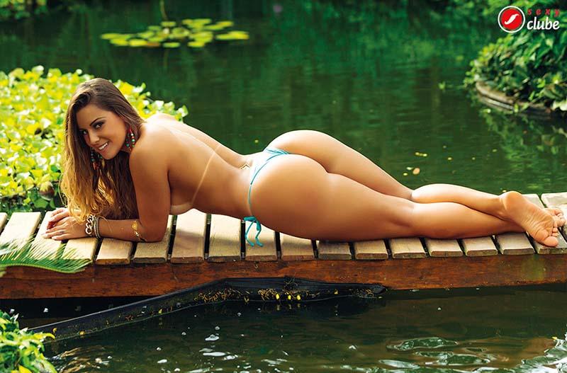 Aricia Silva Pelada Na Revista Sexy 29