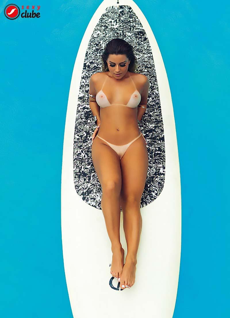 Aricia Silva Pelada Na Revista Sexy 34