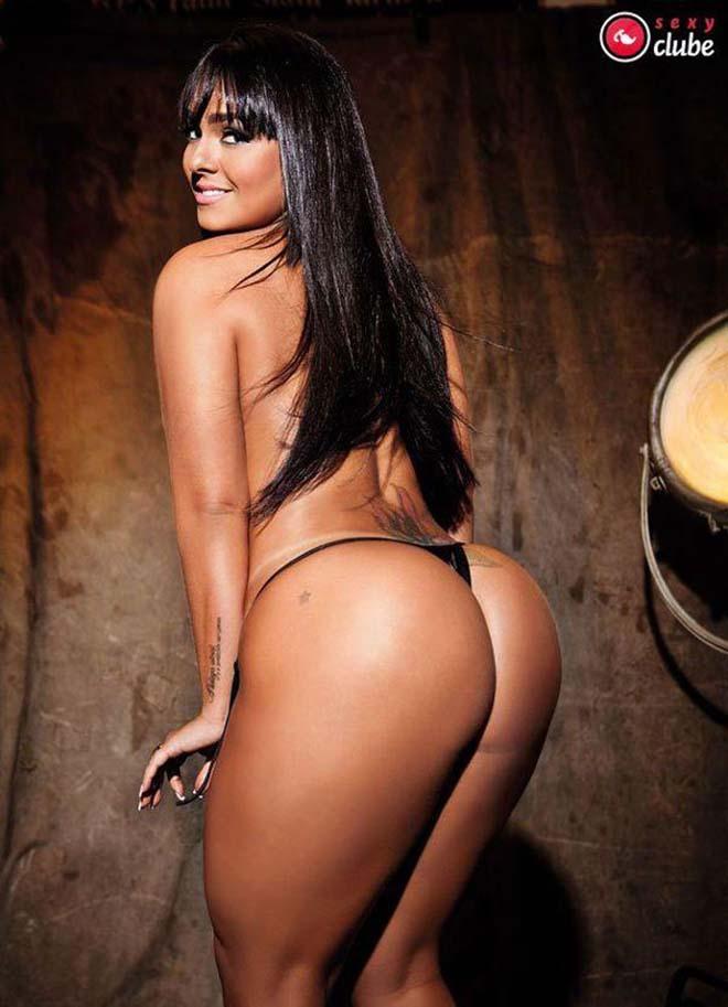 Andressa Soares mulher melancia pelada mostrando tudo