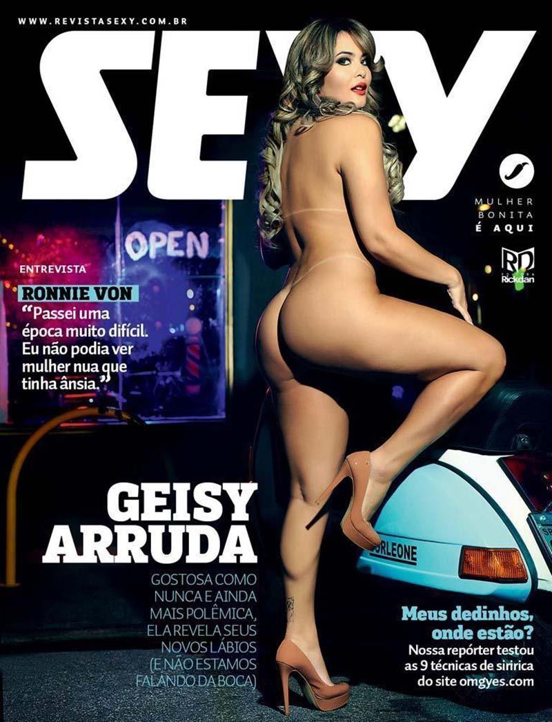 Geisy Arruda Pelada Na Sexy De Abril 2016