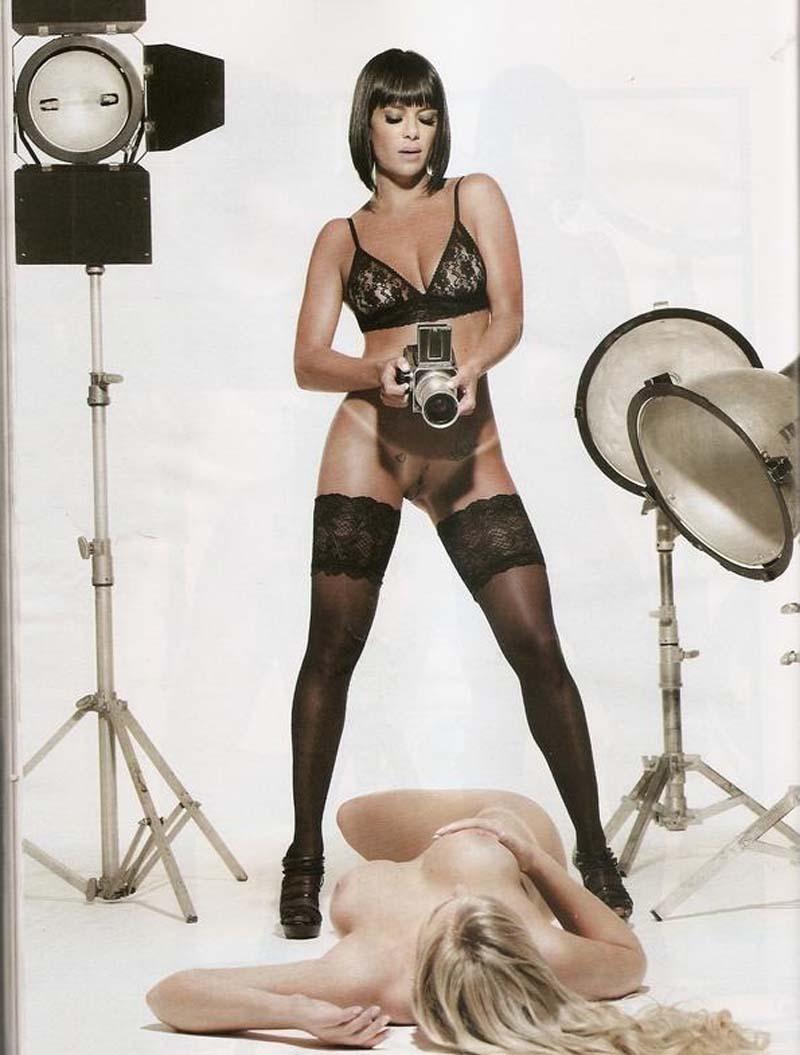 Valentina assistente de palco do Ratinho pelada