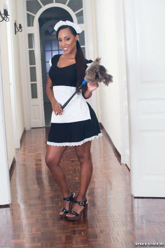 Fotos de empregada doméstica dando pro patrão