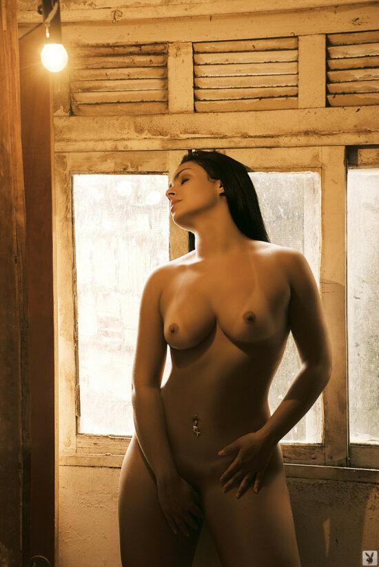 Mulher melancia nua pelada