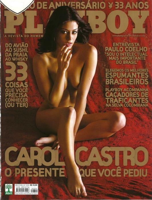 Carol Castro nua Pelada na Playboy